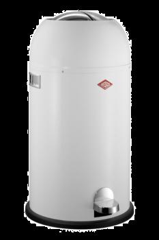 Wesco Kickmaster Pedalbøtte Hvit - 33 liter