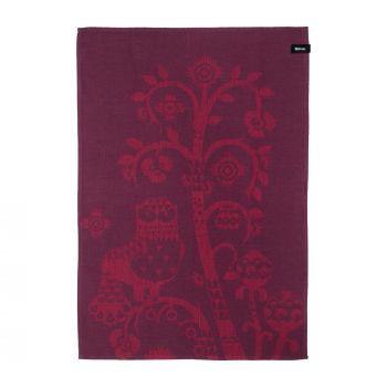 Iittala Taika kjøkkenhåndkle 47x70cm plomme