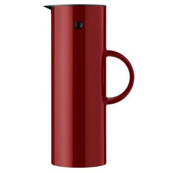 Stelton EM77 Thermos 1L varm rødbrun