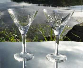 Neman Martiniglass / Champagneglass / Dessertglass Nordic Rose