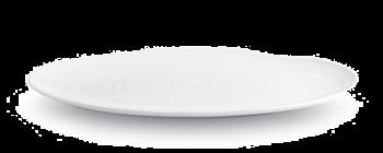 Pillivuyt Boulogne Tallerken Oval Hvit - 23 cm