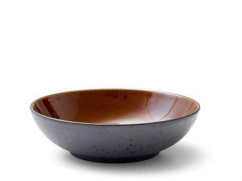 Bitz Salatskål dia.24cm svart/amber