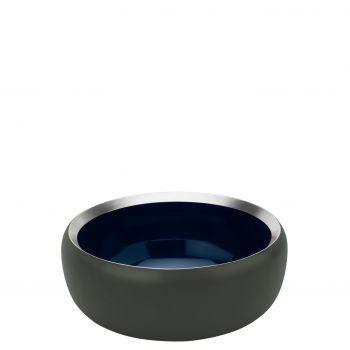 Stelton Ora Skål Dark forrest / midnight blue Ø15 cm