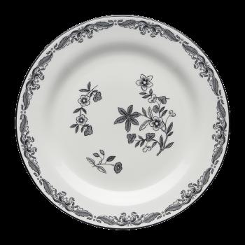 Rørstrand Ostindia Black Plate 21 cm