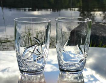 Neman Vannglass / Farrisglass Nordic Rose
