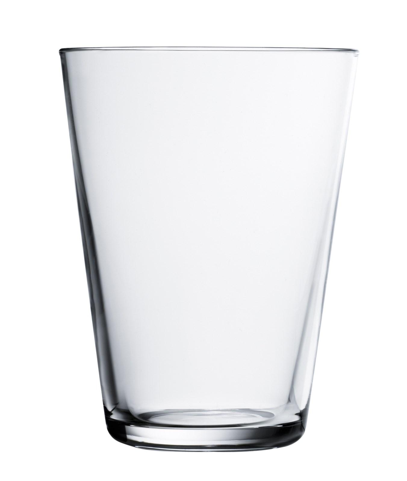 Iittala Kartio Glass klar 2stk 40 cl
