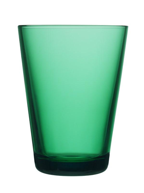 Iittala Kartio Glass Smaragd 2stk 40 cl