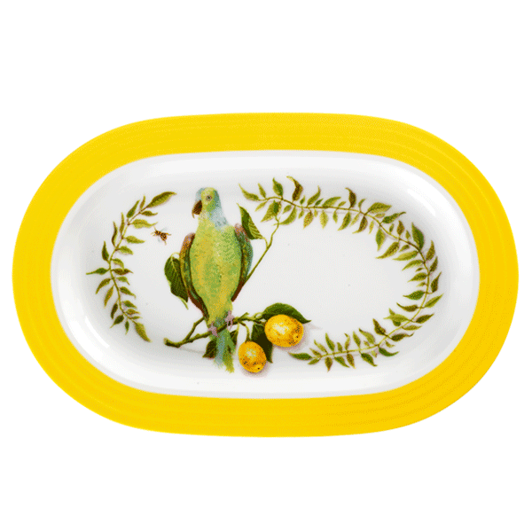 Porsgrund Citron Ovalfat 40 cm