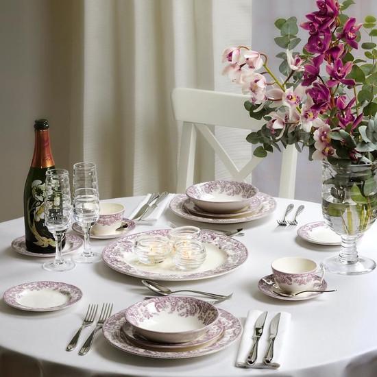 Delamere Bouquet Servise fra Spode