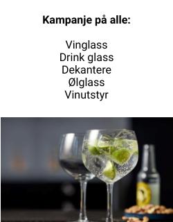 vin og ølglass kampanje
